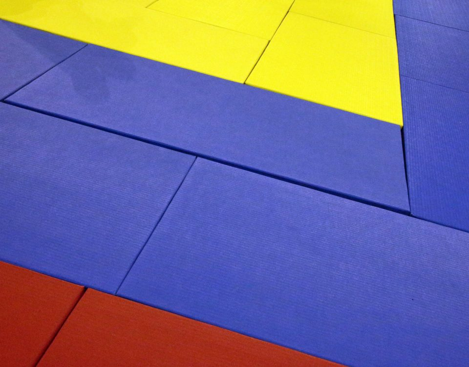 Installer un tatami puzzle pour s'entraîner